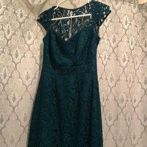 jCrew Tinsley lace cap sleeve dress